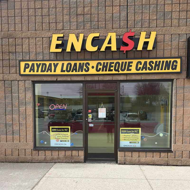 Exterior photo of Encash